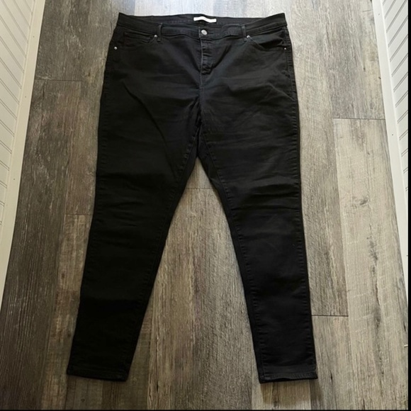 Levi's | Black 721 High Rise Skinny Jeans